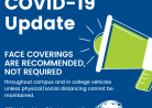 Face Covering Policy Change Effective May 24, 2021