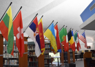 Library Displays Flags of Students Enrolled at PCC