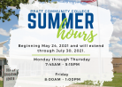 PCC Summer Hours 2021