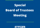 Special Board of Trustees Meeting May 3, 2021